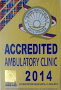 Accredited Ambulatory Clinic by the Philippine Department of Tourism